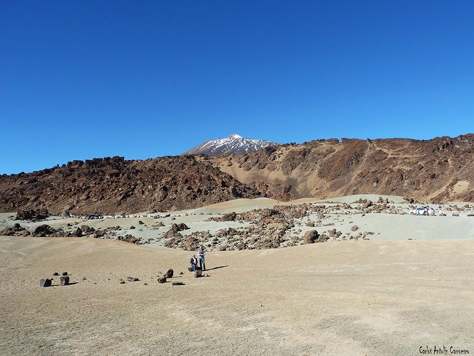 Parque Nacional del Teide - Minas de San José - Tenerife