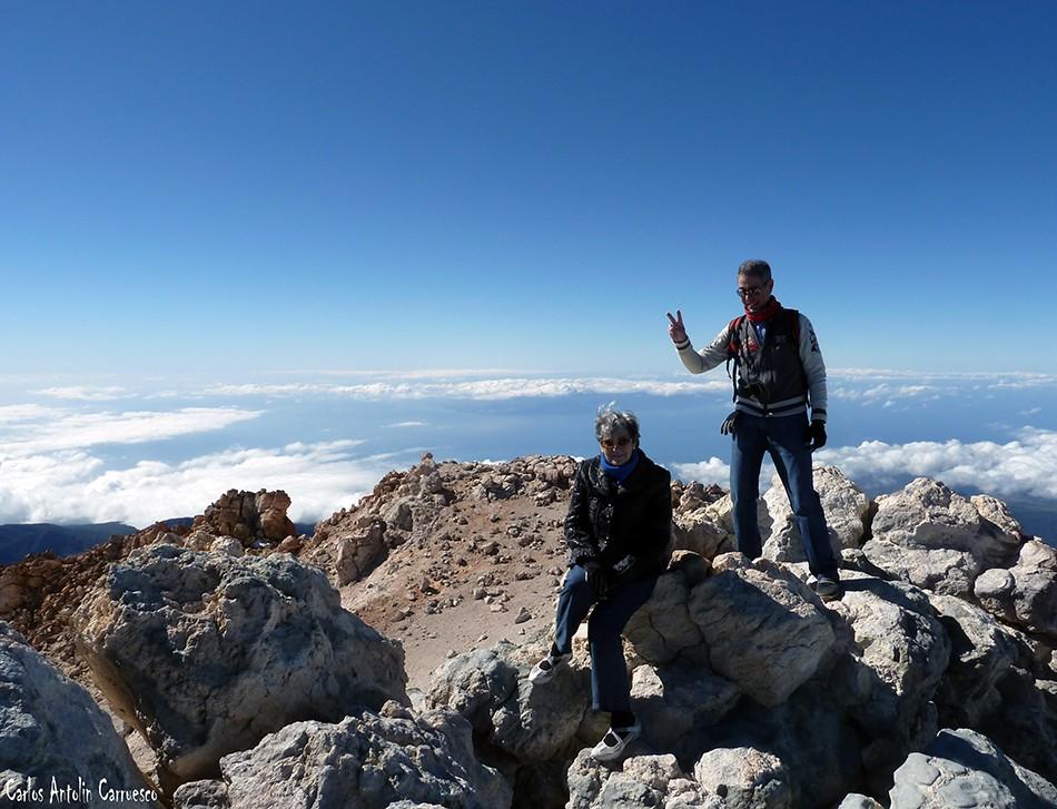 Pico del Teide - Parque Nacional del Teide - Tenerife - Cima de España (3.718 metros de altitud)