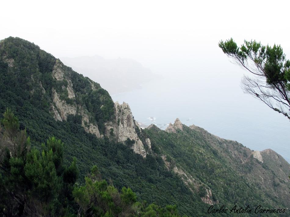 Anaga - ruta Faro de Anaga