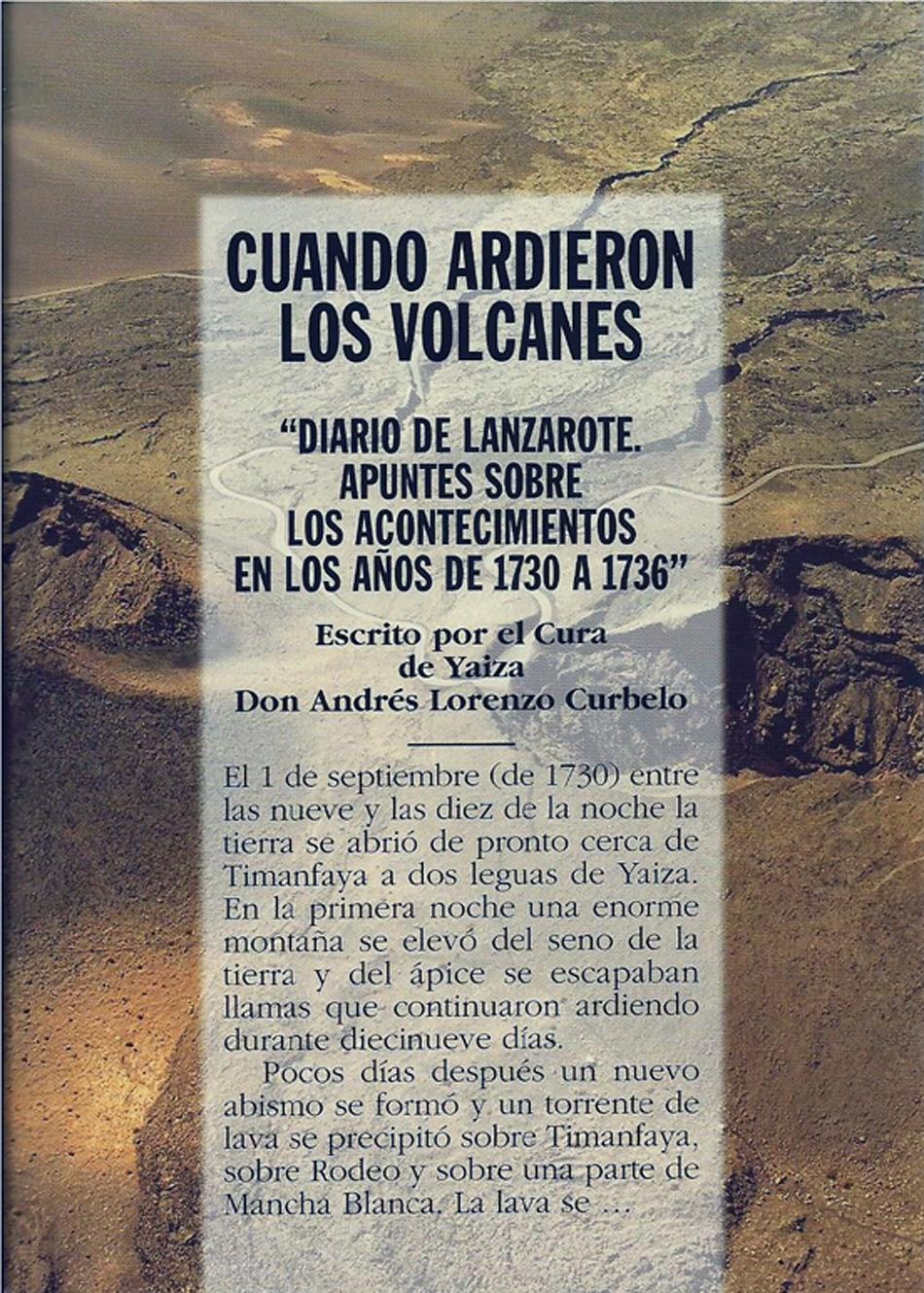 Diario del Cura de Yaiza - Don Andrés Lorenzo Curbelo - Lanzarote