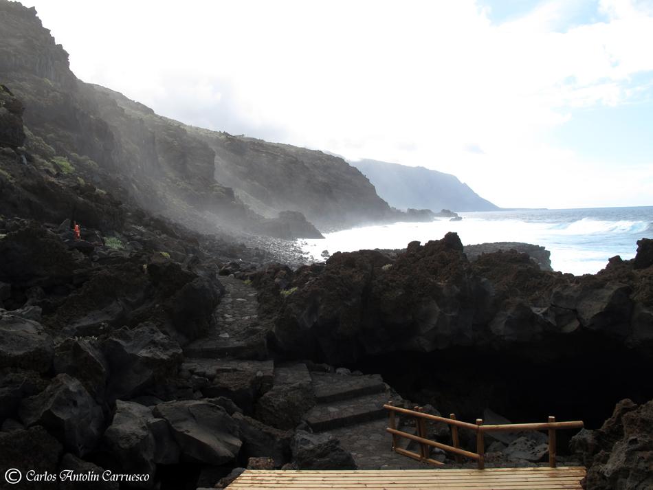 Piscinas naturales el hierro wildcanarias senderismo for Piscinas naturales isla de la palma