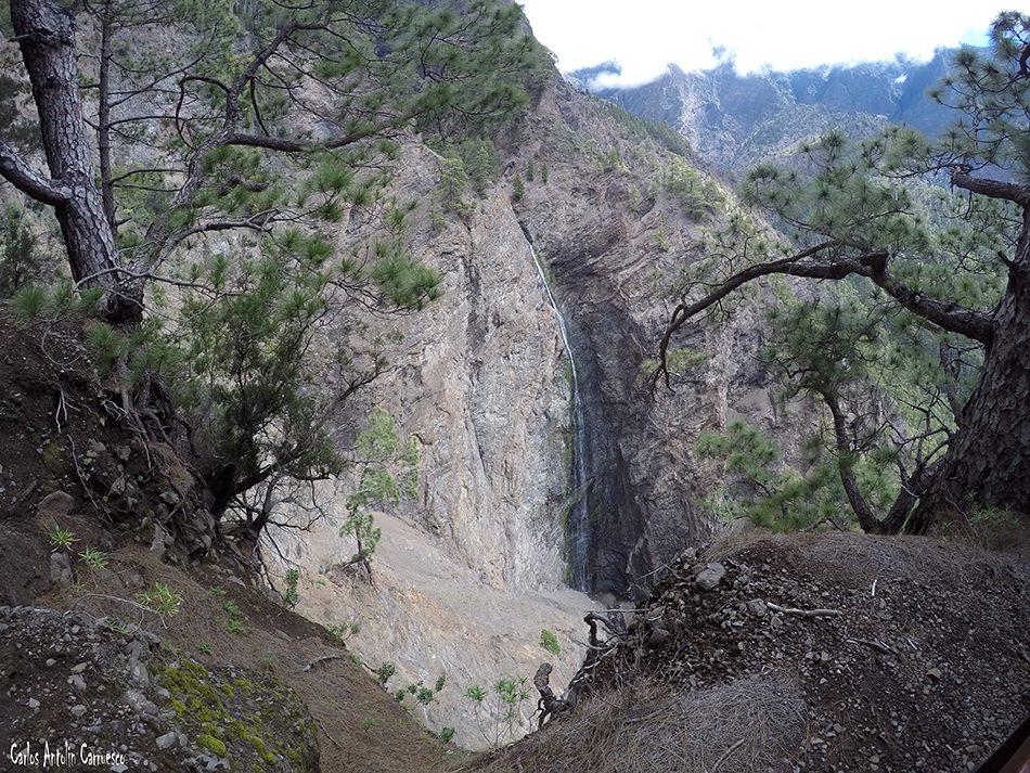 Cascada de La Fondada - Taburiente - La Palma
