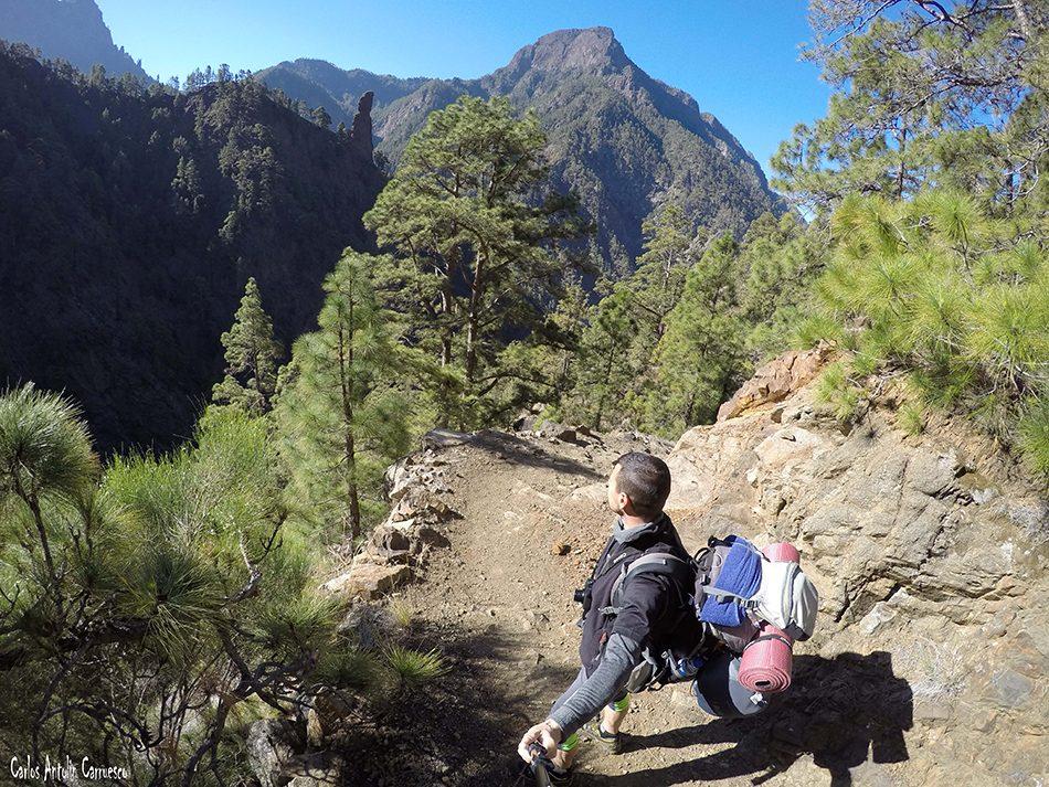 Roque Idafe - Pico Bejenado - La Palma - Parque Nacional de La Caldera de Taburiente