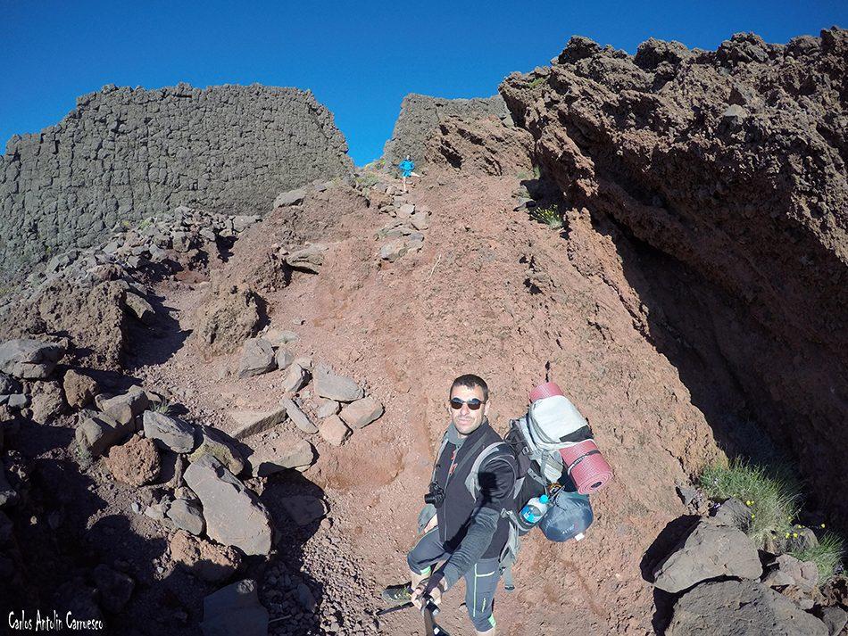 Parque Nacional de La Caldera de Taburiente - Pared de Roberto - La Palma