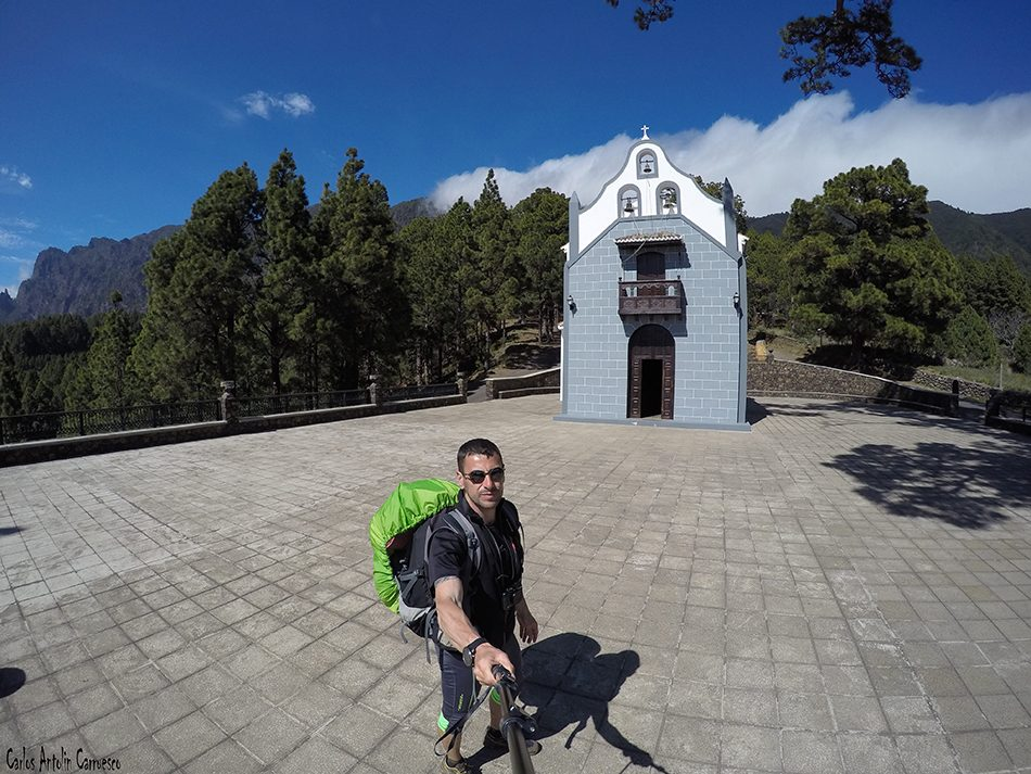 Parque Nacional de La Caldera de Taburiente - La Palma - ermita - virgen del pino