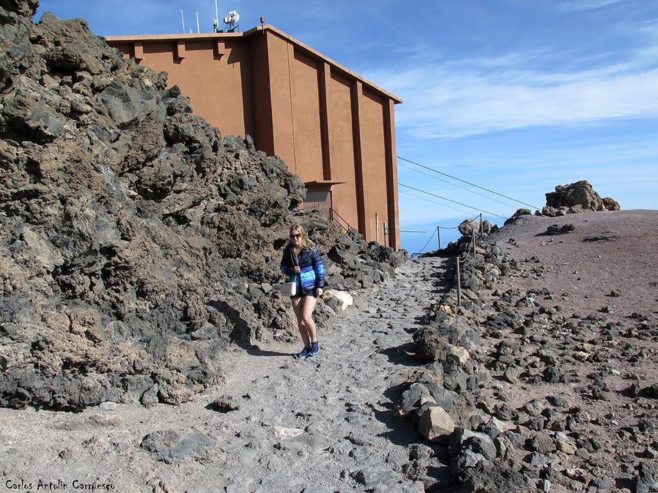 Parque Nacional del Teide - Tenerife - La Rambleta - Teleférico del Teide (3.555 metros)