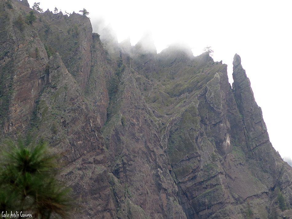 Mirador de Los Brecitos - La Palma - Parque Nacional de La Caldera de Taburiente