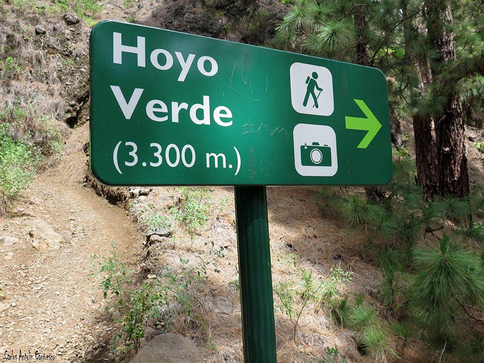 Sendero a Hoyo Verde - Taburiente - La Palma