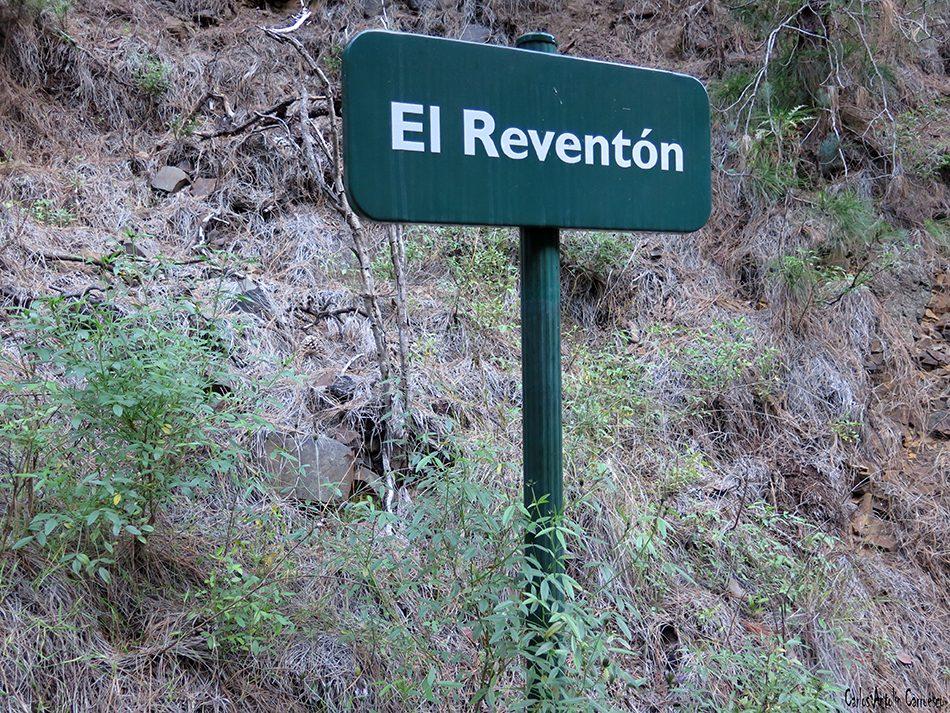 Barranco de Las Angustias - Taburiente - La Palma - el reventón
