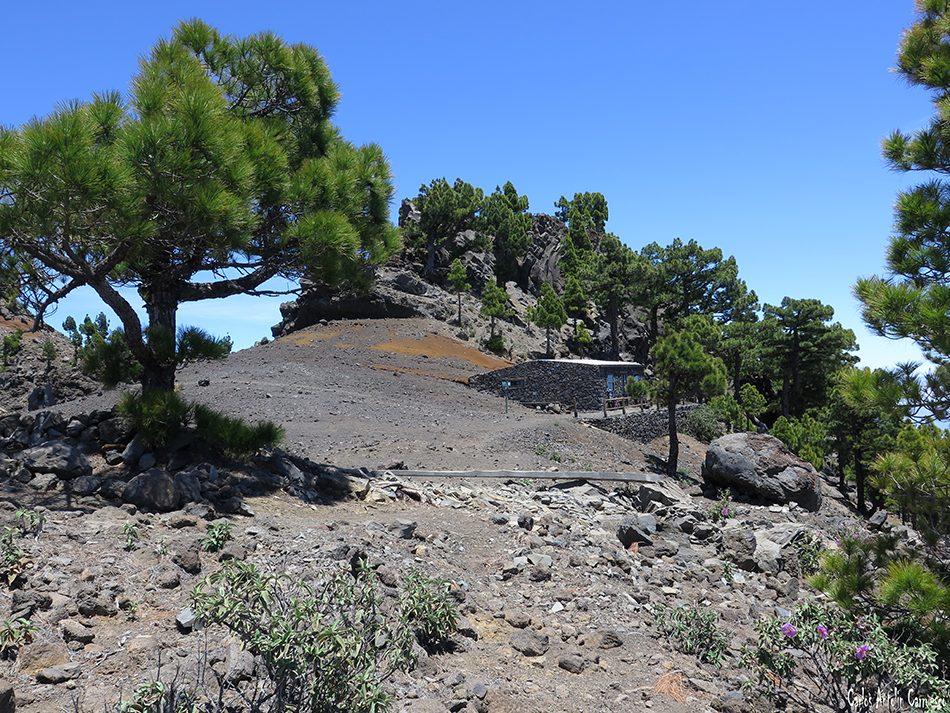 Parque Nacional de La Caldera de Taburiente - La Palma - refugio - punta de los roques