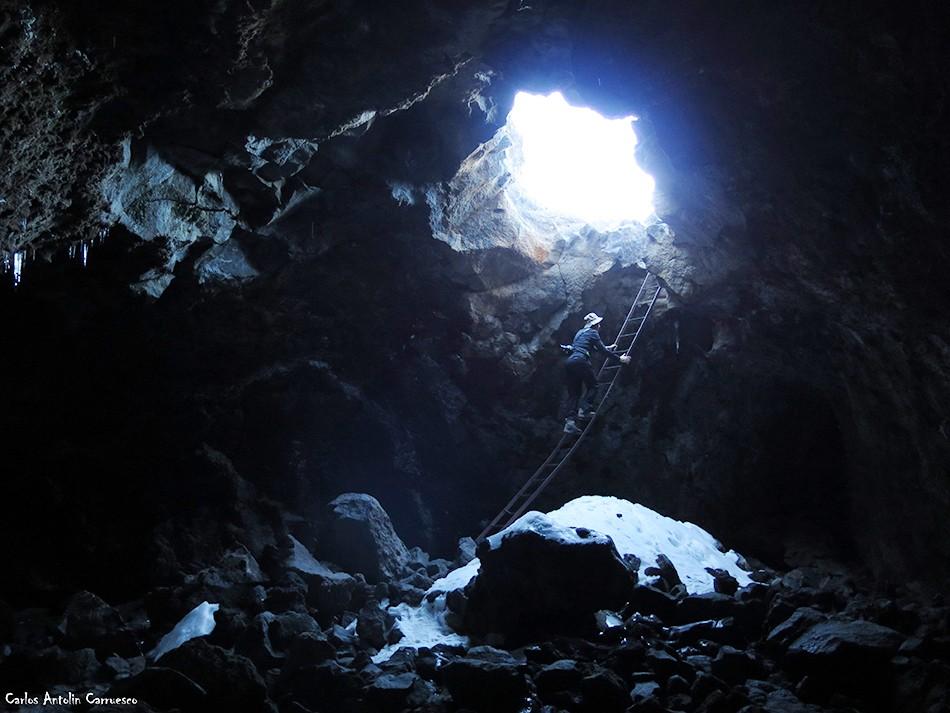 Parque Nacional del Teide - Cueva del Hielo - Tenerife