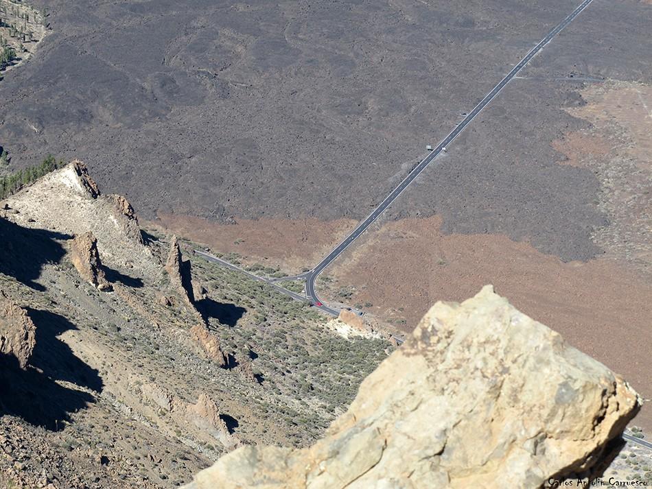 Parque Nacional del Teide - El Sombrero - Tenerife - Boca Tauce