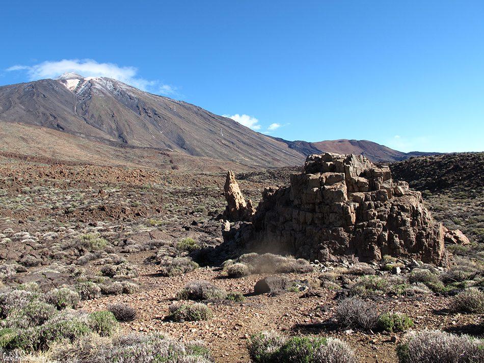 Parque Nacional del Teide - Teide - Tenerife - roques de garcía