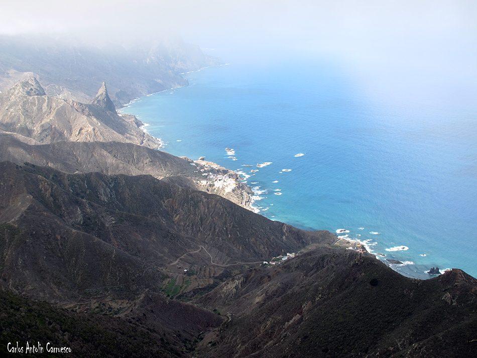 Gran Recorrido Circular por el Faro de Anaga - Tenerife - cabezo del tejo