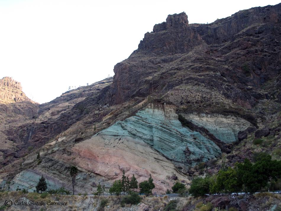 Los azulejos gc200 gran canaria wildcanarias senderismo rutas y fotograf as de las islas - Azulejos tenerife ...