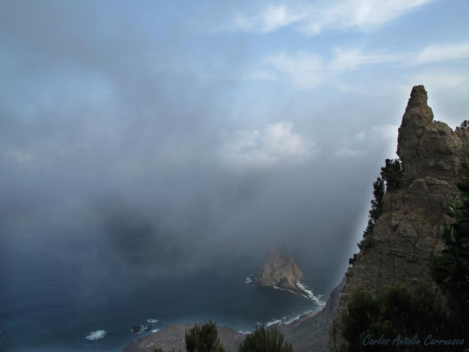 Roque de Dentro - Roque de Fuera - Punta Bajo las Palmas