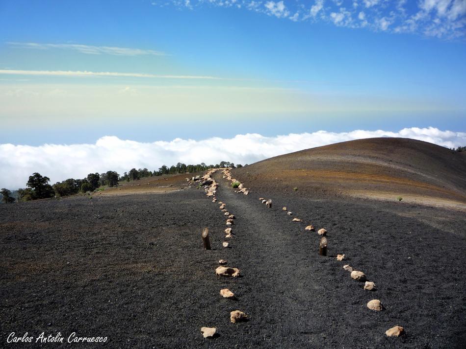 ruta Guajara - Paisaje Lunar - dirección a Vilaflor