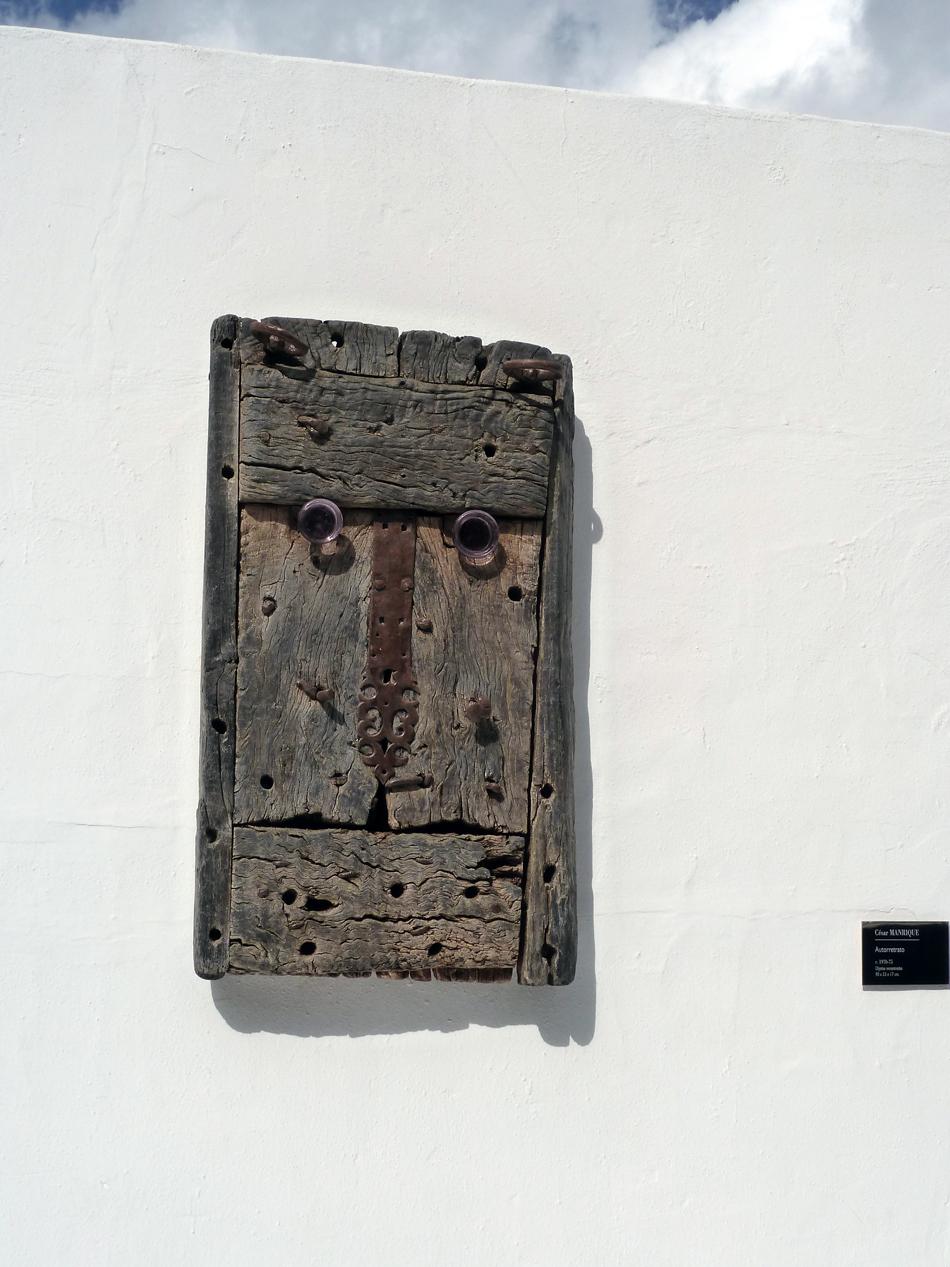 Fundación César Manrique - Tahiche - Lanzarote - autoretrato