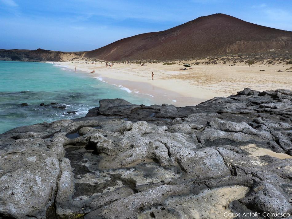 Playa de Las Conchas - Isla de La Graciosa