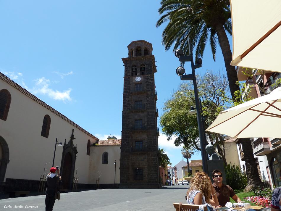Iglesia de Ntra. Sra. de La Concepción y Torre - La Laguna