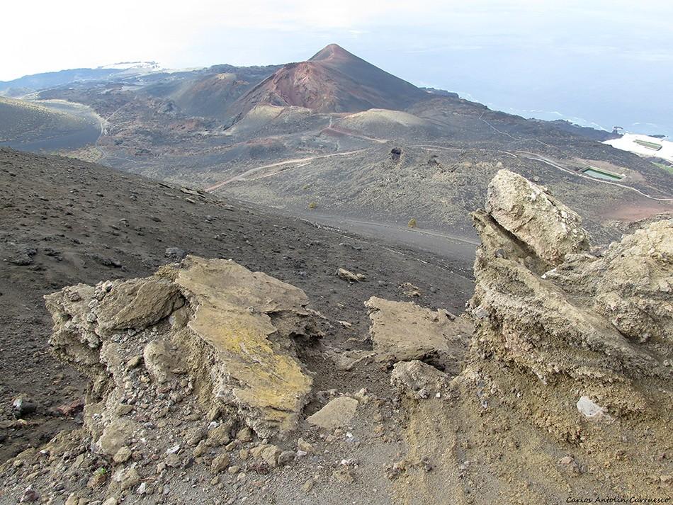 Volcán San Antonio - Volcán Teneguía - La Palma