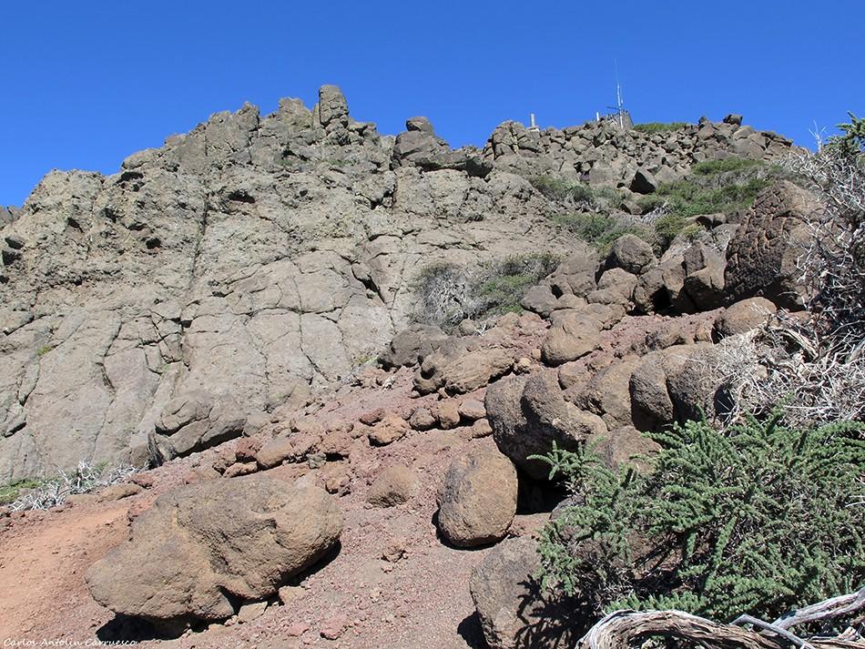 Pico de La Cruz - La Crestería - La Palma