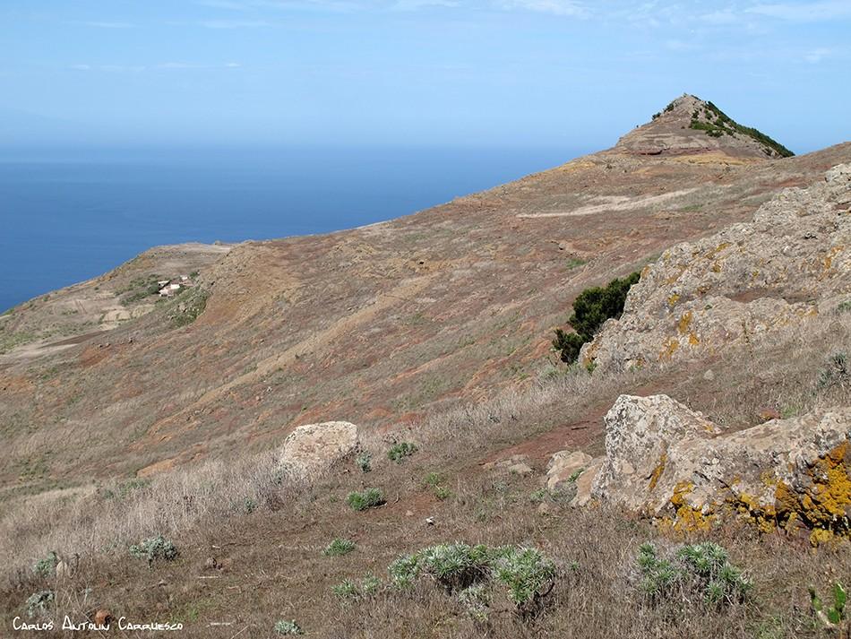 Camino del Risco - Teno - Tenerife - roque de la cruz