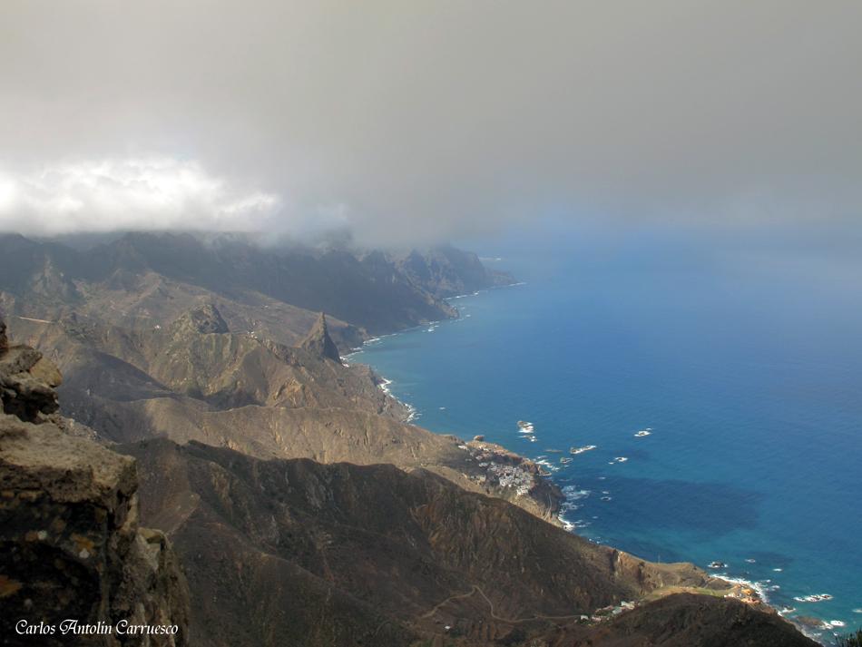 Mirador Cabeza de Tejo - Anaga - Tenerife - Almáciga y el Roque de Las Ánimas