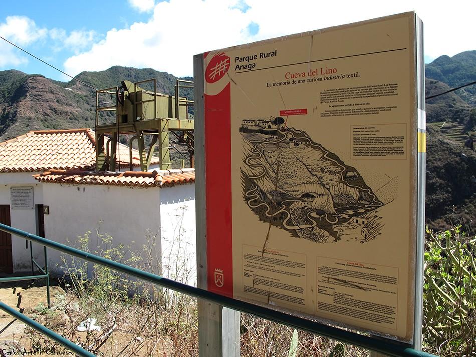 Los Batanes - Anaga - Tenerife - cueva del lino