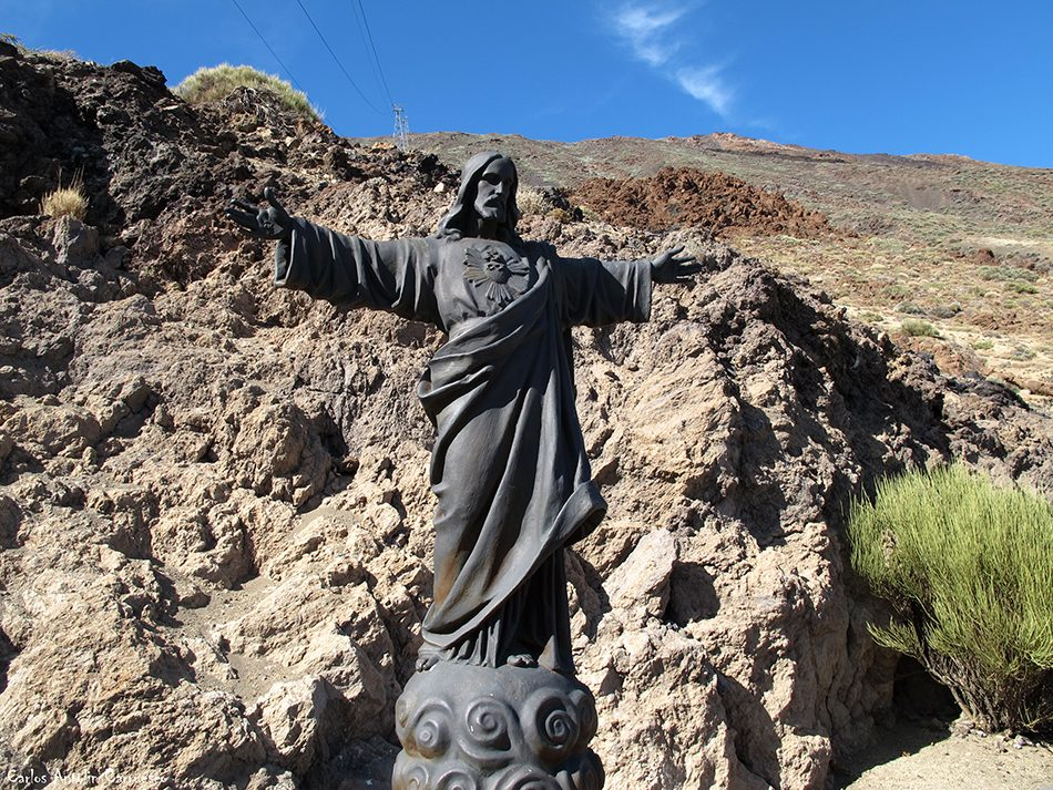 sendero Nº7 - P.N. del Teide - Tenerife - Teleférico del Teide