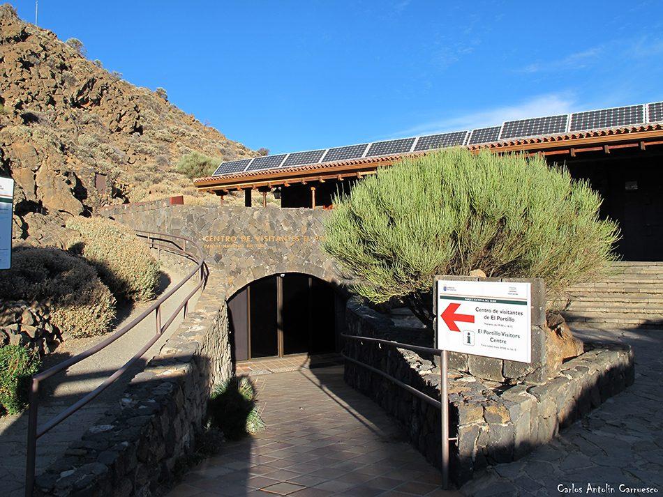Centro de Visitantes de El Portillo - Tenerife - Parque Nacional del Teide