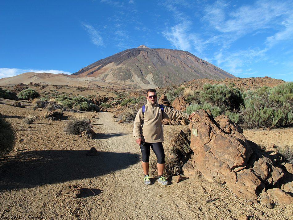 sendero nº6 - Parque Nacional del Teide - Tenerife