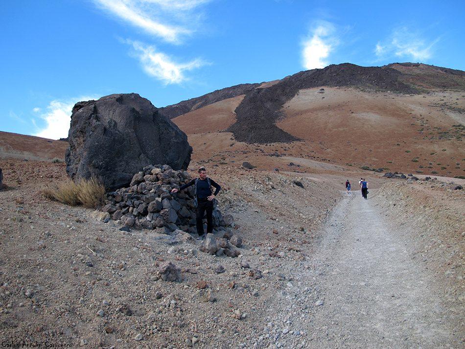 Los Huevos del Teide - sendero Nº7 - Teide - Tenerife