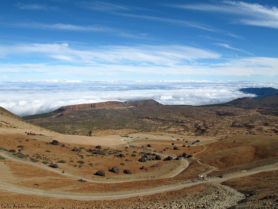 sendero Nº7 - P.N. del Teide - Tenerife - huevos del teide - fortaleza