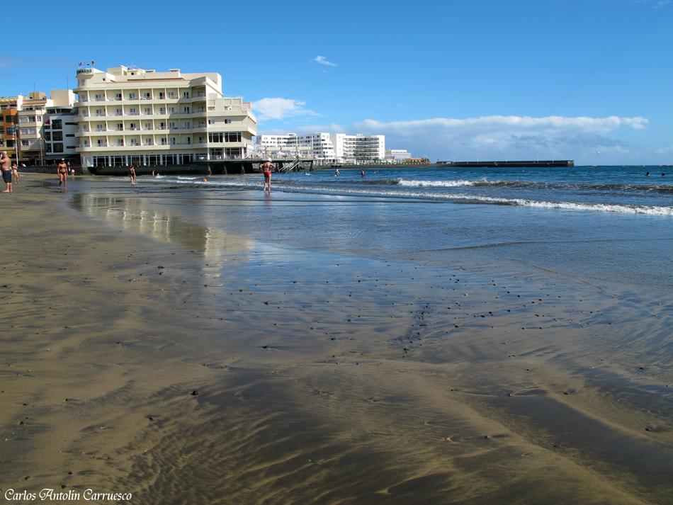 """El Médano - Tenerife - playa """"Leocadio Machado"""""""