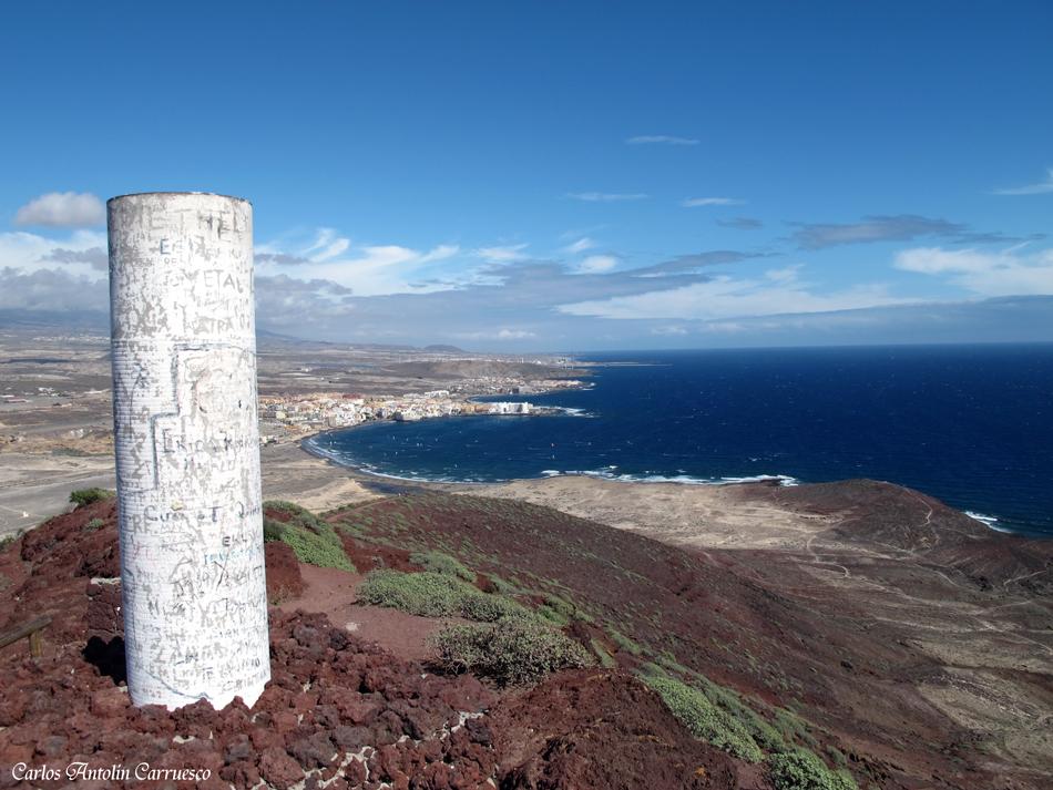 """Mirador del volcán """"Montaña Roja"""" - Tenerife"""