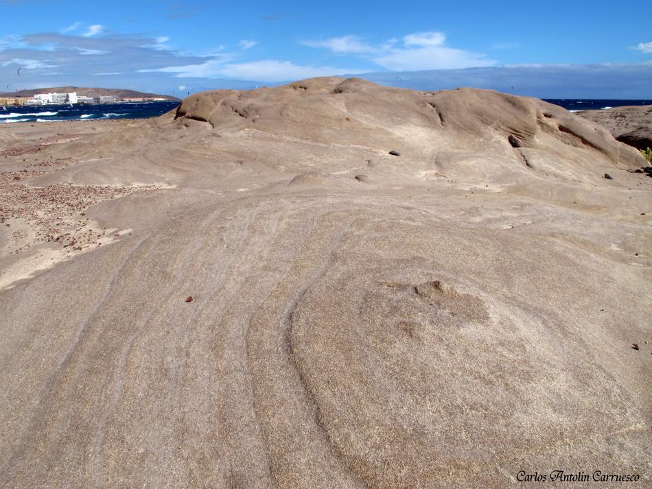 dunas fósiles - El Médano - Tenerife