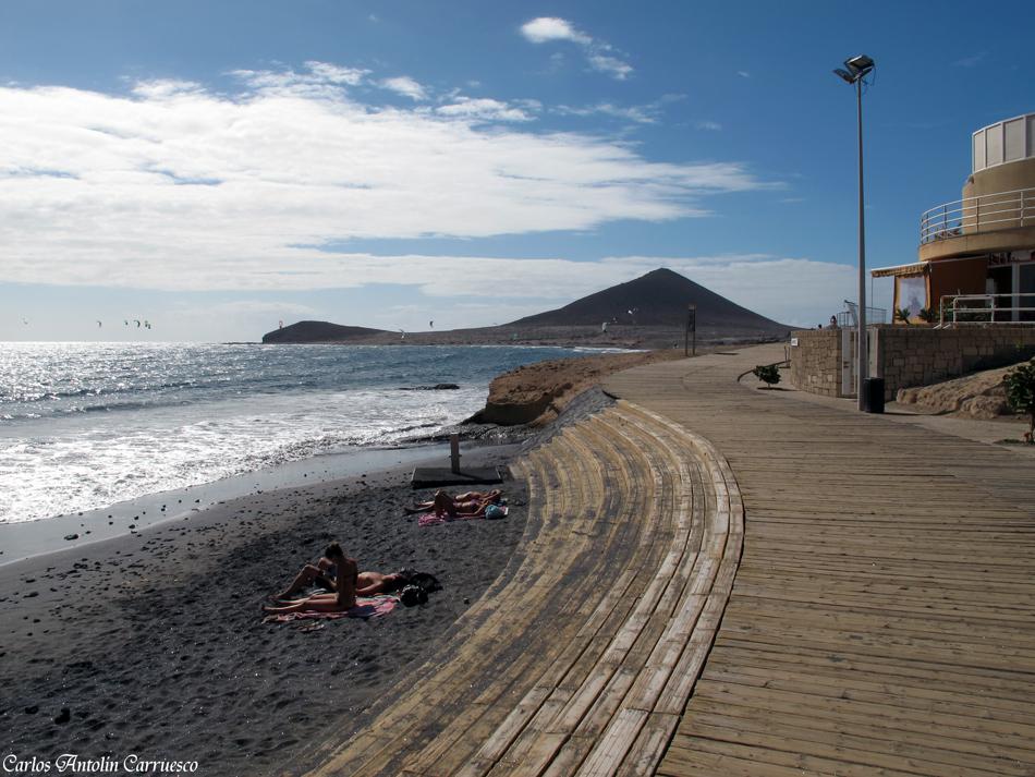 El Médano - playa de Leocadio Machado - Paseo Ntra. Sra. de las Mercedes de Roja - Tenerife
