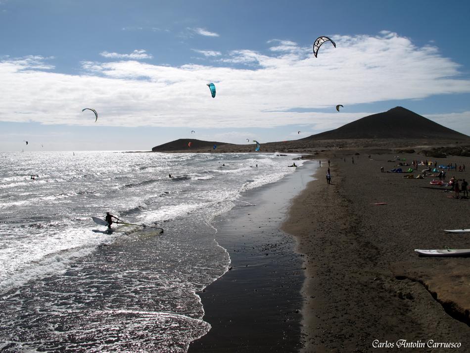 El Médano - playa Los Balos - Tenerife