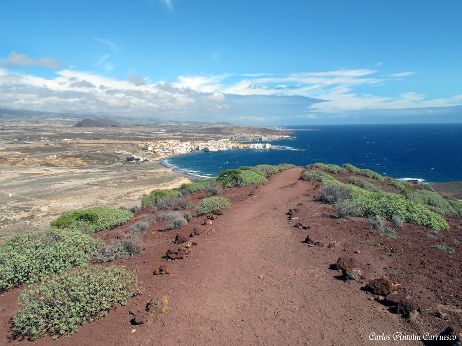 El Médano - Montaña Roja - Tenerife
