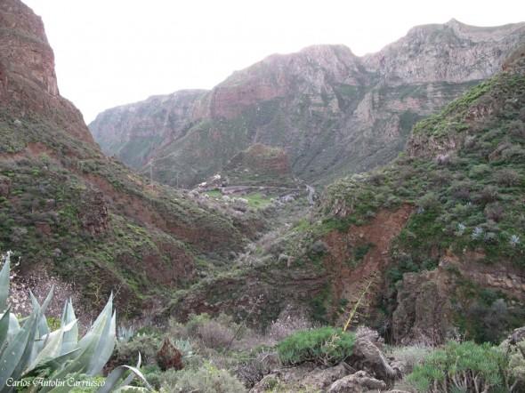 Agüimes - Barranco de Guayadeque - Gran Canaria - casas cueva