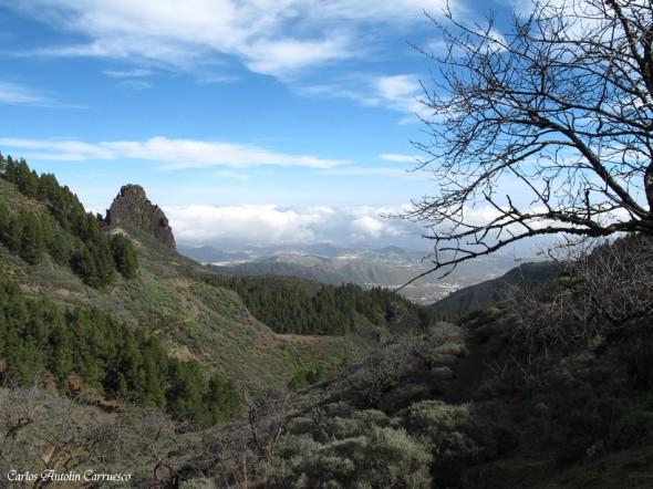La Caldera de Los Marteles - Roque Grande - Gran Canaria