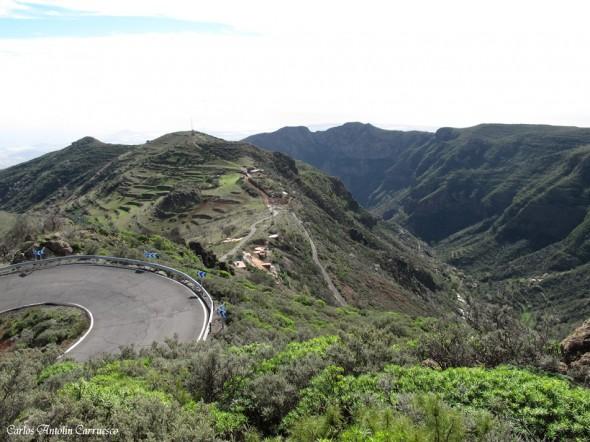 GC130 - Barranco de Guayadeque - Lereta - Gran Canaria
