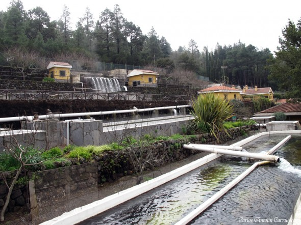 Piscifactoría de Aguamansa - Tenerife