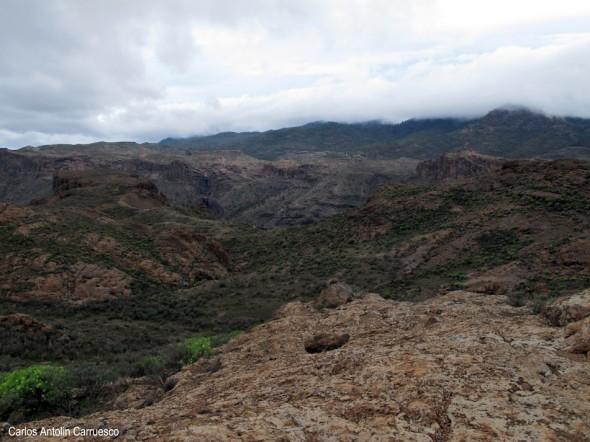 Soria - Chira - Gran Canaria - Meseta de Llano del Corral