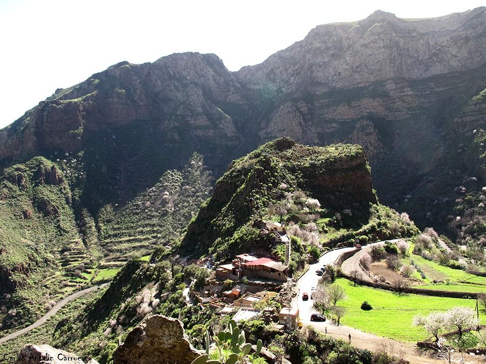 Casas Cueva - Montaña de Las Tierras - guayadeque - gran canaria