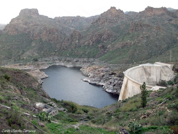 Embalse y presa de Soria - Soria - Gran Canaria