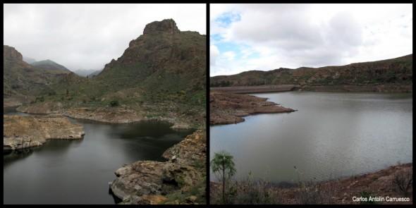 Embalses de Soria y Chira - Gran Canaria