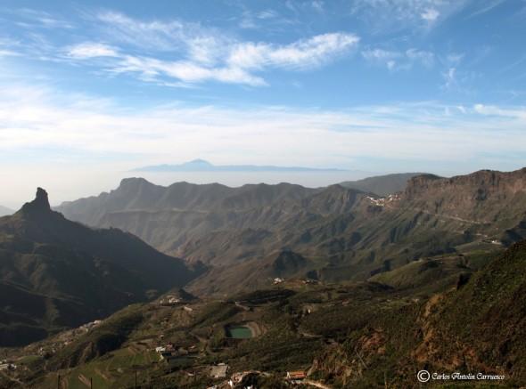Mirador Degollada de la Becerra - carretera GC150 - Gran Canaria