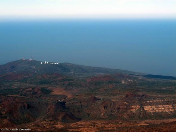 Izaña en el horizonte - Teide - Tenerife